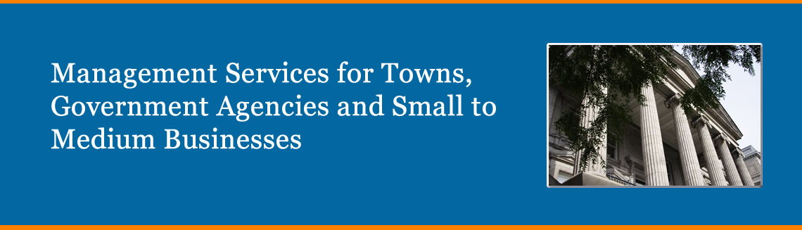 Management Services for Towns, Government Agencies and Small to Medium Businesses